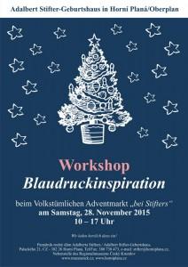 Workshop Blaudruck